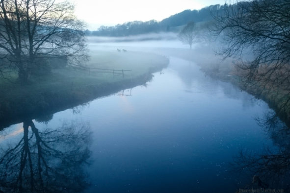 Twilight Mists, River Calder © Bryony Whistlecraft | MooredgeintheMist.com