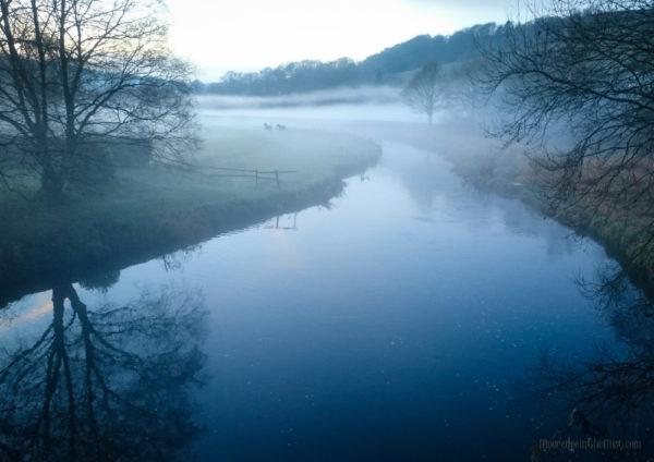 Twilight Mists, River Calder © Bryony Whistlecraft | MooredgeintheMist.com