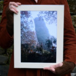 Autumn at Hell Hole A4 Print, cobweb and monolith © Bryony Whistlecraft   MooredgeintheMist.com