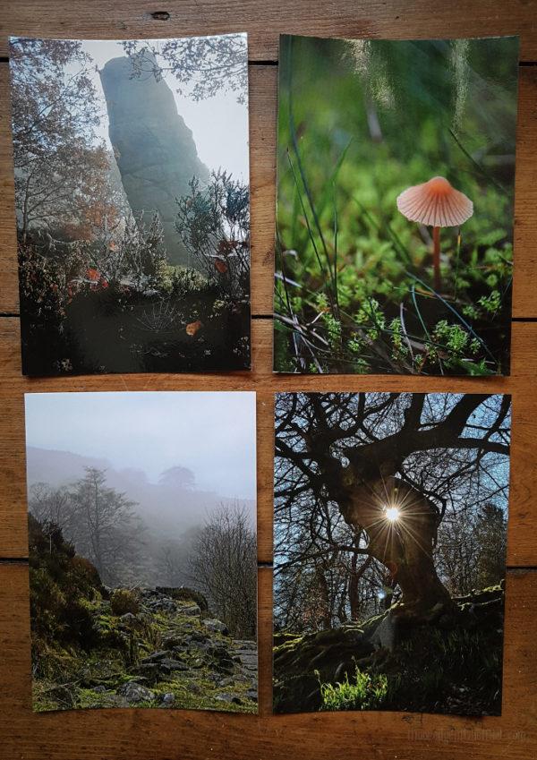 Assorted Postcard Collection © Bryony Whistlecraft   MooredgeintheMist.com