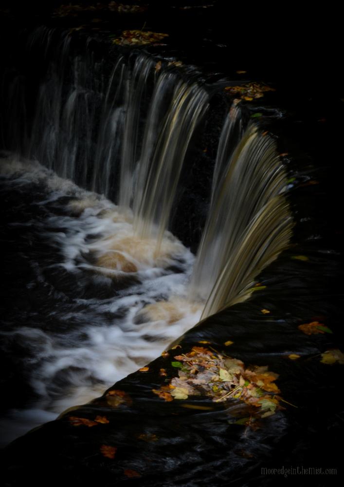 Cragg Vale, Weir © Bryony Whistlecraft   MooredgeintheMist.com