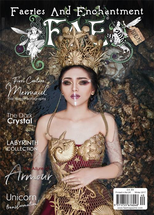 Faeries & Enchantment Magazine Issue 40 Winter 2017 FAE Mag