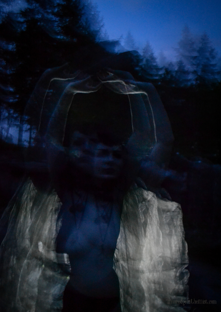 Witch, Full Moon at Druid's Temple © Bryony Whistlecraft | MooredgeintheMist.com