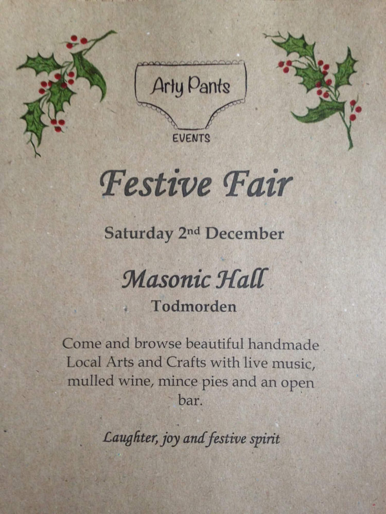 Arty Pants Festive Fair 2017