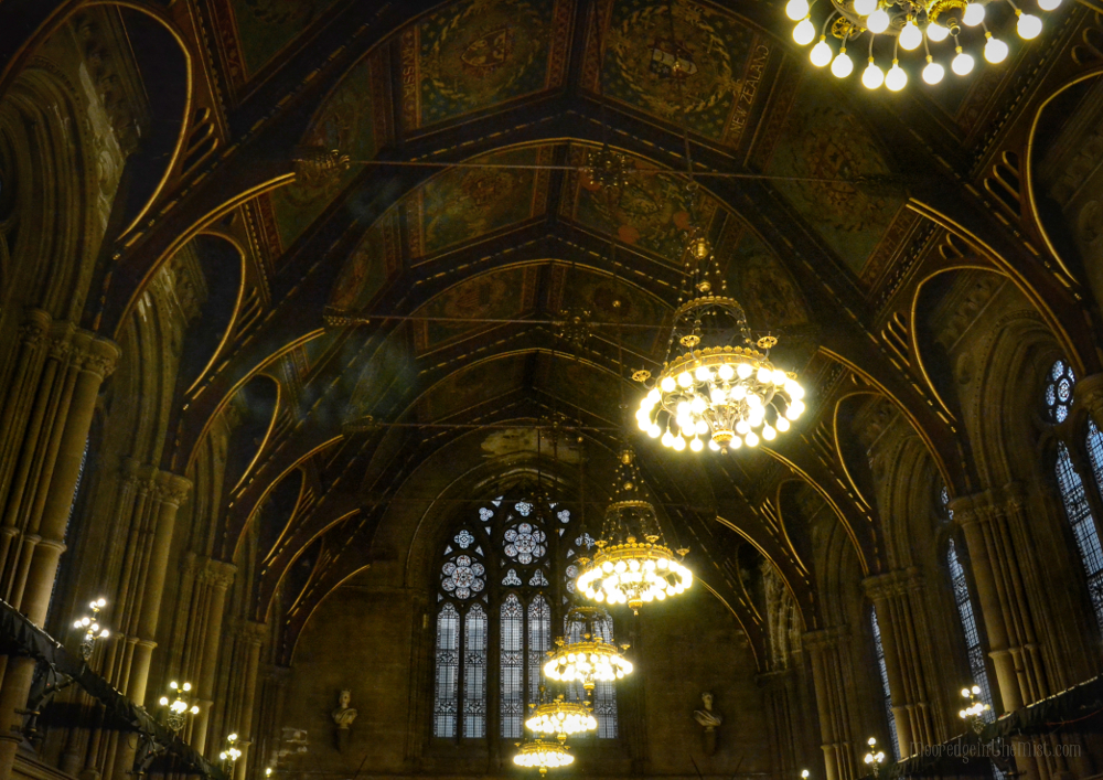Manchester Town Hall, Great Hall Ceiling © Bryony Whistlecraft | MooredgeintheMist.com