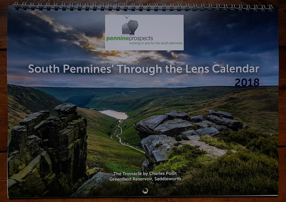 Pennine Prospects 'Through the Lens' Calendar 2018
