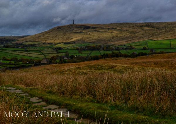 Moorland Path © Bryony Whistlecraft | MooredgeintheMist.com